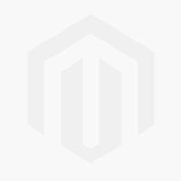 14K White Solid Gold Four Prong Round Sapphire With Diamond Setting